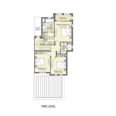 Type B 3 Bedroom